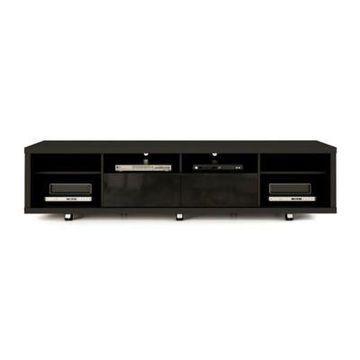 Manhattan Comfort Cabrini TV Stand in Black