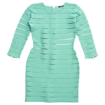 Balmain Green Viscose Dresses