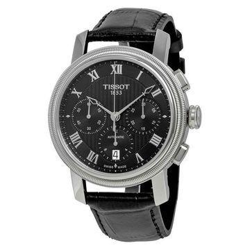 Tissot Bridgeport Automatic Chronograph Black Dial Mens Watch