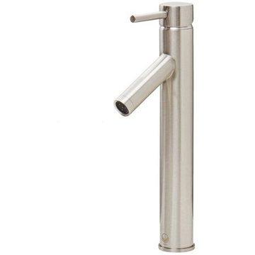 Vigo Dior Bathroom Vessel Faucet, Brushed Nickel