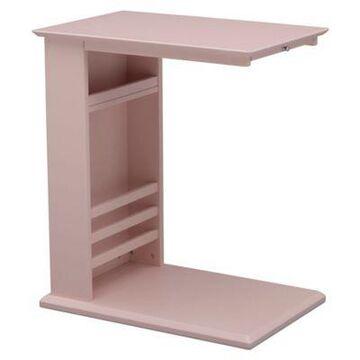Delta Children Nolan Side Table In Lotus Pink