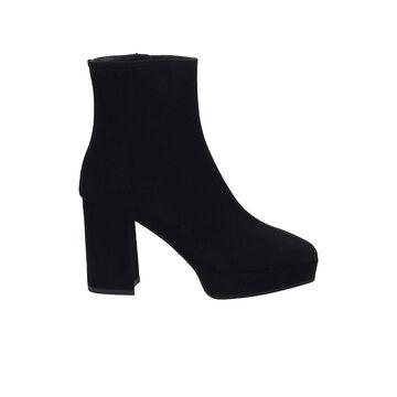 Roberto Festa Vaud Black Suede Ankle Boot