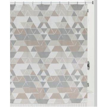Creative Bath Triangles Shower Curtain Bedding