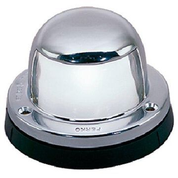 Seachoice Chrome-Plated Brass Stern Light