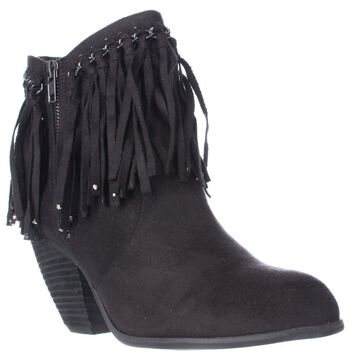 Not Rated Womens Aadila Closed Toe Ankle Fashion Boots, Black, Size 7.5