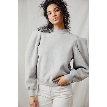 Citizens of Humanity Heather Folded Sleeve Sweatshirt by Citizens of Humanity at Free People, Heather Grey, XS