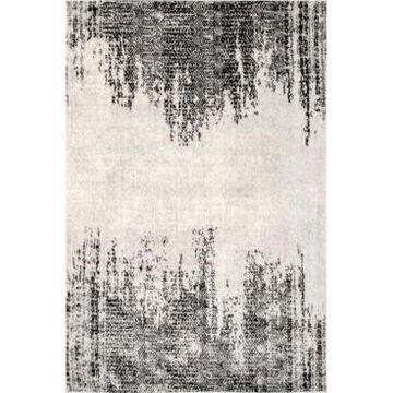 nuLoom Creek Vintage-Inspired Atarah Gray 8' x 10' Area Rug