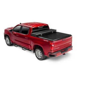 Extang 60457 Express Tool Box Tonno Tonneau Cover; Black; Vinyl; For Use w/Existing Tool Box; Tool Box Not Included;