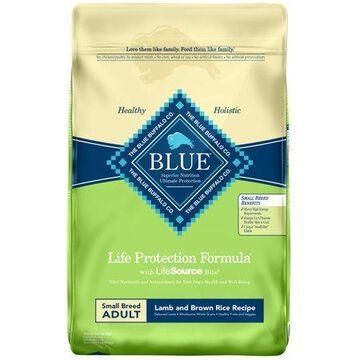Blue Buffalo Lamb and Brown Rice Small Breed Dry Dog Food, 15-lb