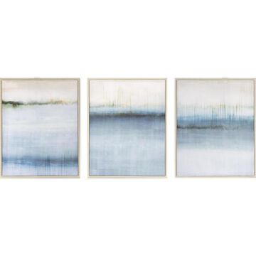 allen + roth Light Brown Framed 20-in H x 16-in W Abstract Print on Canvas   2011-8067LOW