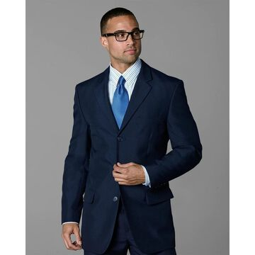 Twin Hill Mens Jacket Navy Poly 3-button