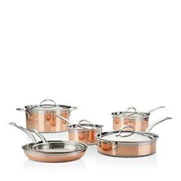 Hestan CopperBond 10-Piece Cookware Set
