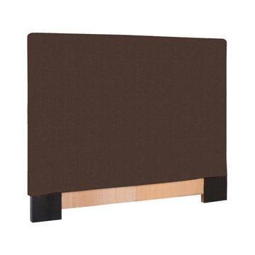 Howard Elliott Sterling Full Queen Headboard Slipcover, Chocolate