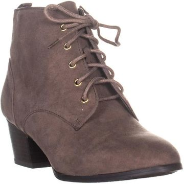 Charter Club Womens Carlee Fabric Pointed Toe Ankle Fashion Boots