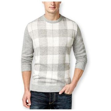 Club Room Mens Buffalo Plaid Pullover Sweater
