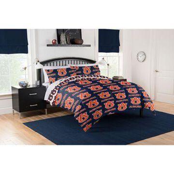Auburn Tigers 5-Piece Full Bed in a Bag Comforter Set Multi