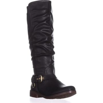 Xoxo Womens maurica Closed Toe Knee High Fashion Boots