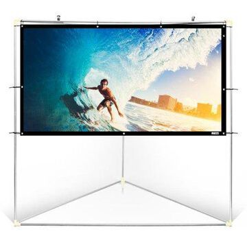 Pyle Home PRJTPOTS71 Portable Outdoor Projection Screen (72