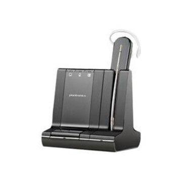 Plantronics Savi W745-M - 700 Series - headset - convertible - DECT 6.0 / Bluetooth - wireless