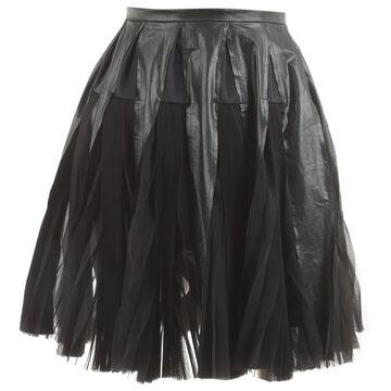 Sacai Black Polyester Skirts