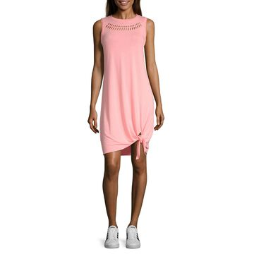 Xersion Sleeveless T-Shirt Dresses