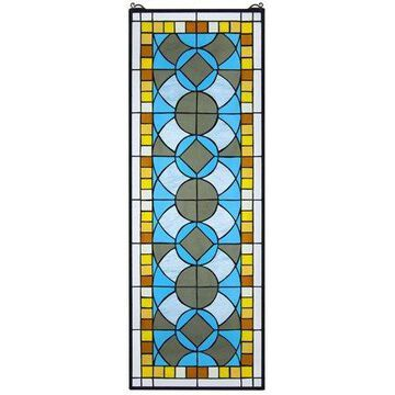 Design Toscano Boundless Rhythm Tiffany-Style Stained Glass Window