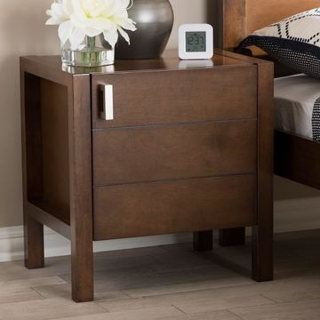 Contemporary Nightstand by Baxton Studio