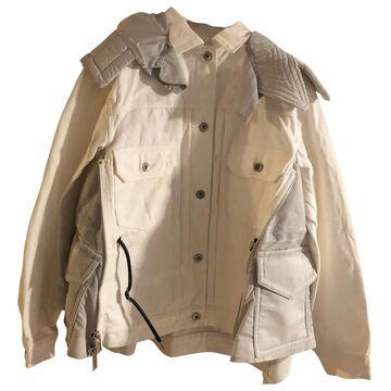 Sacai \N White Cotton Jackets