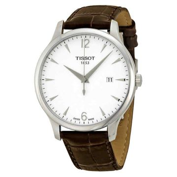 Tissot T Classic Tradition Silver Dial Mens Watch T0636101603700