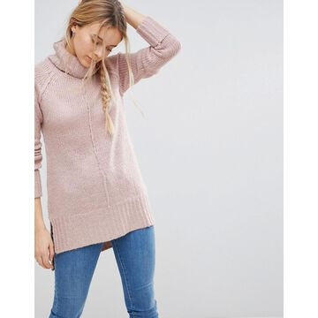 QED London Roll Neck Sweater