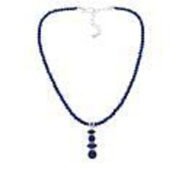 Mine Finds by Jay King Sterling Silver Multi-Stone Lapis Pendant with Necklace