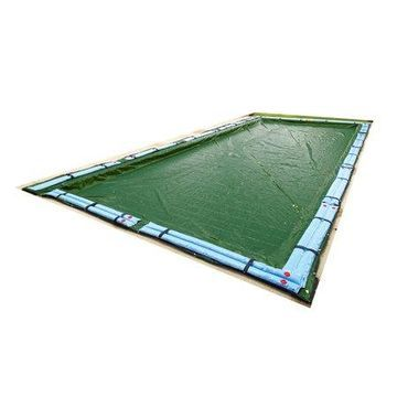 Blue Wave 12-Year Rectangular Winter Cover for In-Ground Pool