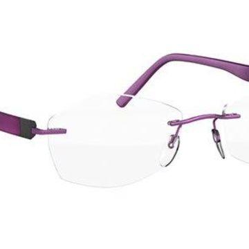 Silhouette Inspire 5506 DJ 3540 52 New Unisex Eyeglasses
