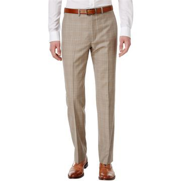Ryan Seacrest Distinction Mens Flannel Dress Slacks