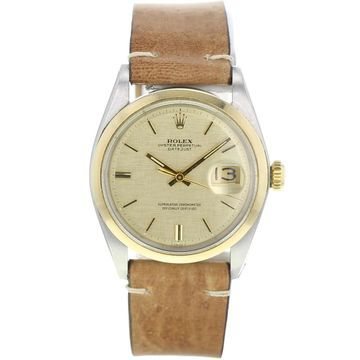 Rolex Datejust 36mm Brown gold and steel Watches