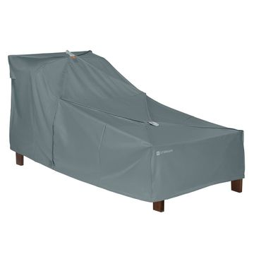 Storigami Easy Fold Patio Day Chaise Cover Monument Gray - Classic Accessories