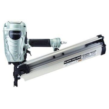Metabo HPT 3-1/2-Inch Plastic Collated Framing Nailer, NR90AES1M