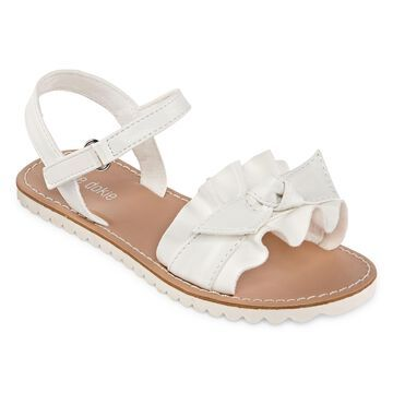 Okie Dokie Lil Hope Ankle Strap Flat Sandals Toddler Girls