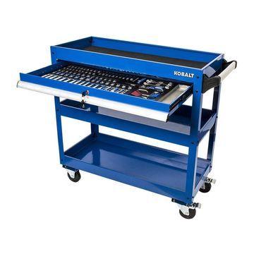 Kobalt 141-Piece Standard (SAE) and Metric Mechanic's Tool Set with (no case)