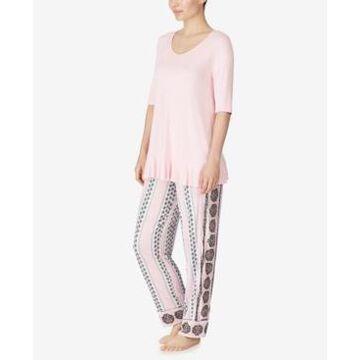 Ellen Tracy Ruffle Pajama Set