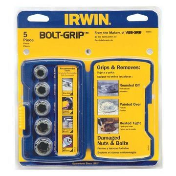 Irwin 5-Piece Bolt Extractor Set