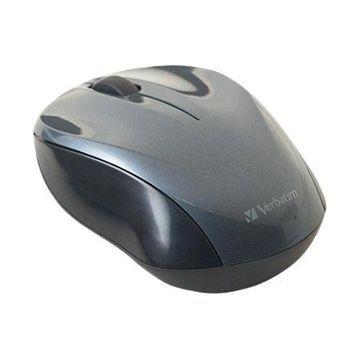Verbatim Wireless Nano Notebook Optical Mouse - Graphite 97670