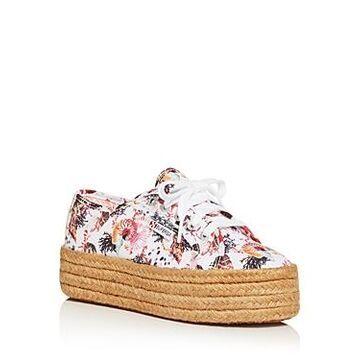 Superga x Mary Katrantzou Women's Platform Espadrille Sneakers