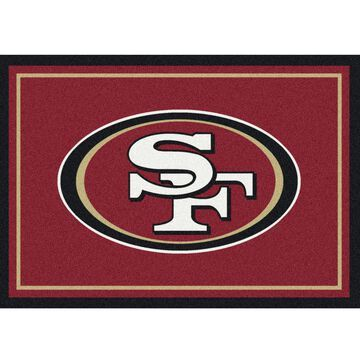 San Francisco 49ers Imperial 6' x 8' Spirit Rug