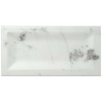 SomerTile 3x6-inch Carra Carrara Matte Inmetro Ceramic Wall Tile (88 tiles/12.41 sqft.)