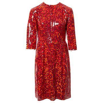 Nina Ricci Red Polyester Dresses