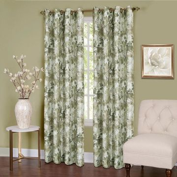 Achim Blackout 1-Panel Tranquil Window Curtain