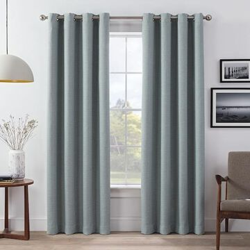eclipse Wyckoff Blackout 2-Pack Window Curtains