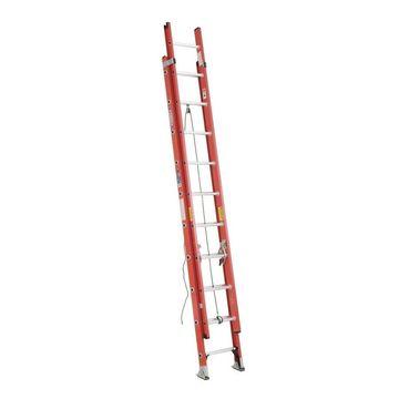 Werner D6200-2 Fiberglass 20-ft Type 1A - 300 lbs. Extension Ladder