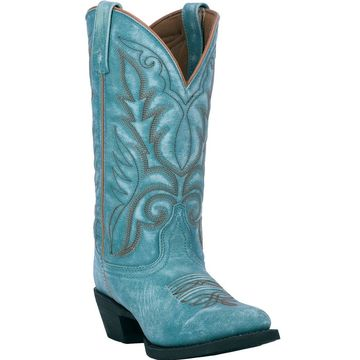 Laredo Womens Lad 11 R Toe, Turquoise
